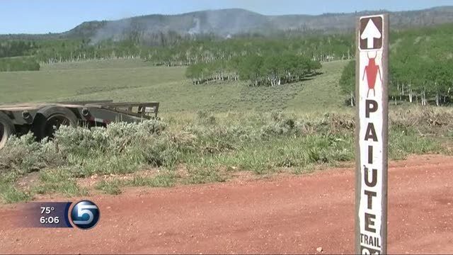 Wildfires in south-central Utah grow to 2300 acres each | ksl.