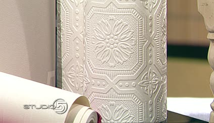 Allen And Roth Paintable Wallpaper Loris Decoration