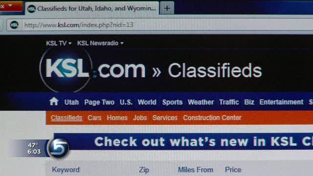 Ksl Com Cars >> Using Classifieds Man Scams Potential Buyers With Car Ad