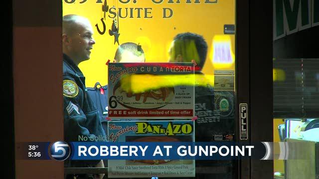 Restaurant robbed at gunpoint, police say | ksl.