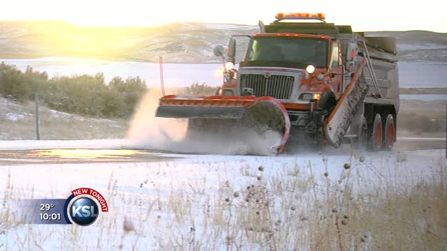 Snow not a surprise for Snowville residents | KSL com