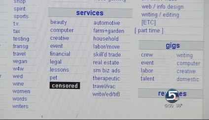 Craigslist Censors Adult Services Section Ksl Com