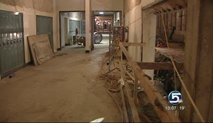 restoration project goes underground at ogden high school ksl com
