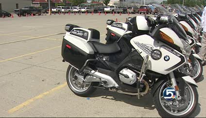 SLCPD showcases new BMW motorcycles | KSL.com